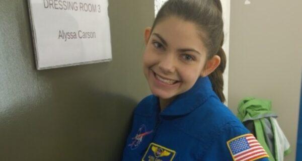 Американская Гаечка 14 лет из своих 17 готовится к полету на Марс. И она полетит