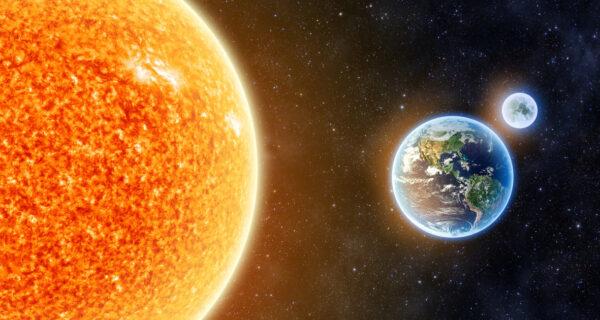 В пятницу Земля убежит от Солнца
