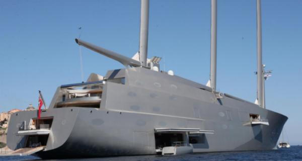 Смотрим и завидуем: яхта русского миллиардера Мельниченко за 470 миллионов долларов