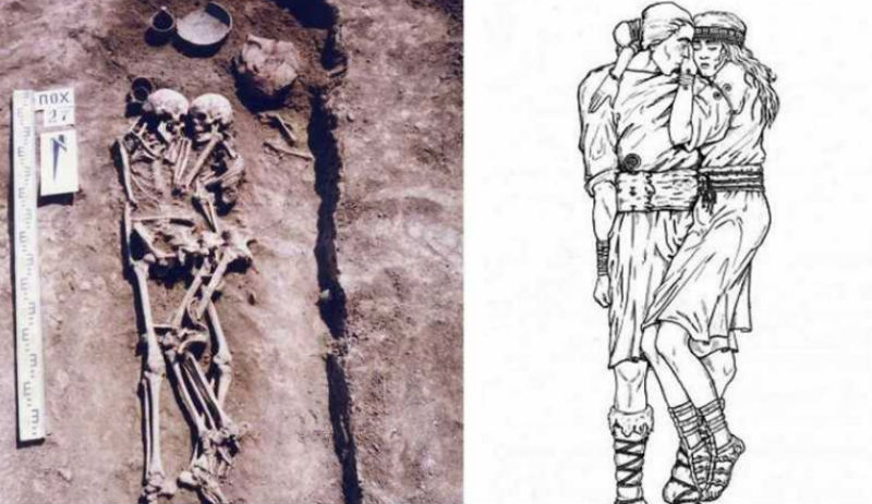«Женщина была жива, когда их хоронили»: история уникального 3-тысячелетнего захоронения влюбленных