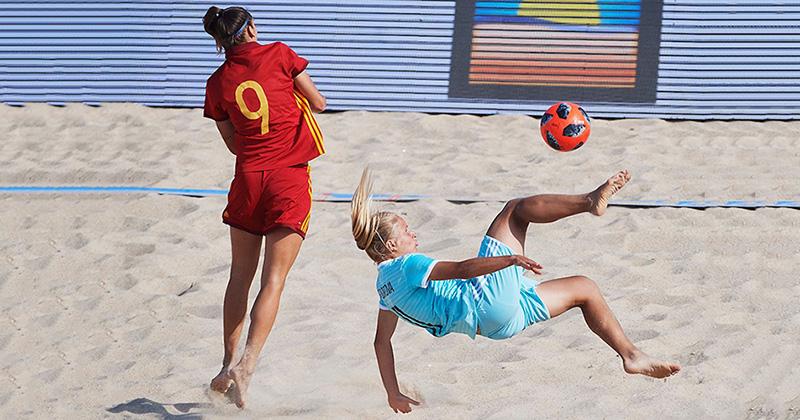 Не вышло на ЧМ-2018, получилось на пляже: женская сборная России впервые выиграла Кубок Европы по пл
