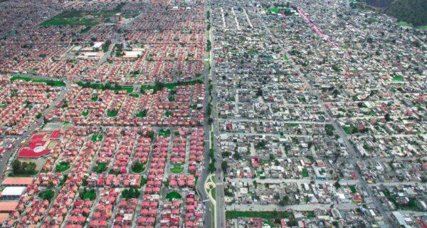 Богатые vs бедные: как это выглядит сверху
