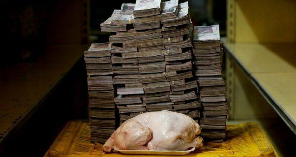 Курица за мешок с деньгами: фото, иллюстрирующие цены на товары в Венесуэле