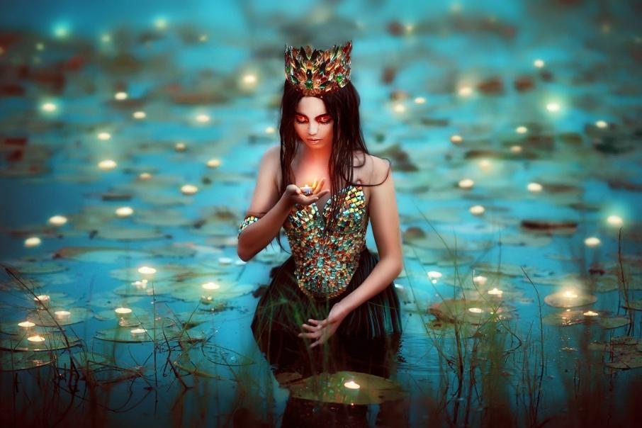 forestprincesses01 - Лесные принцессы и русалки: пермский фотограф снимает сказочных красавиц в лесах Прикамья