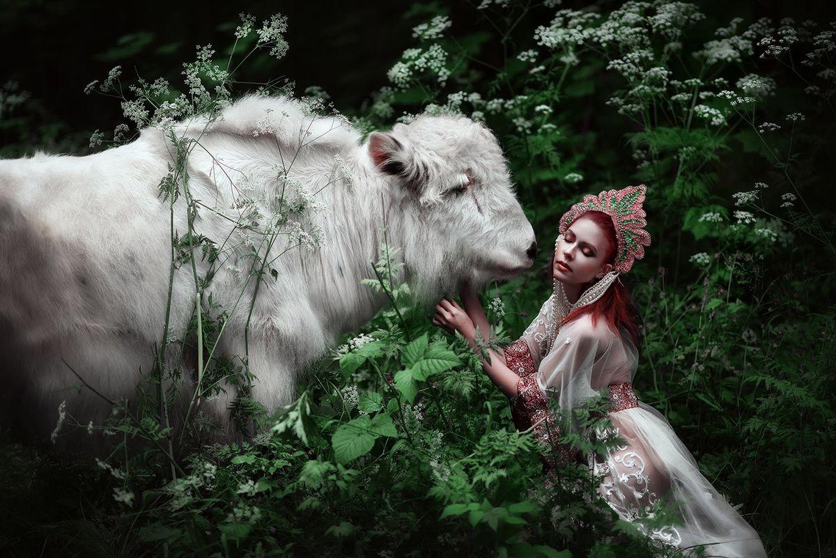 forestprincesses04 - Лесные принцессы и русалки: пермский фотограф снимает сказочных красавиц в лесах Прикамья