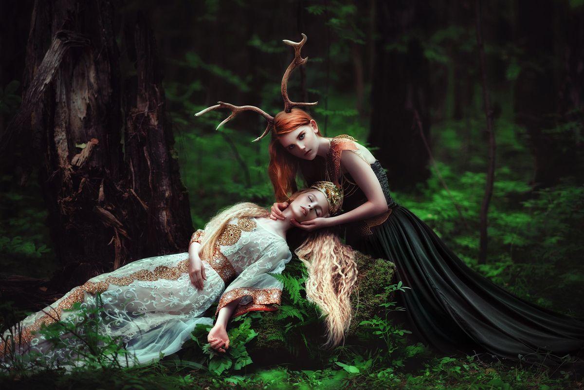 forestprincesses14 - Лесные принцессы и русалки: пермский фотограф снимает сказочных красавиц в лесах Прикамья