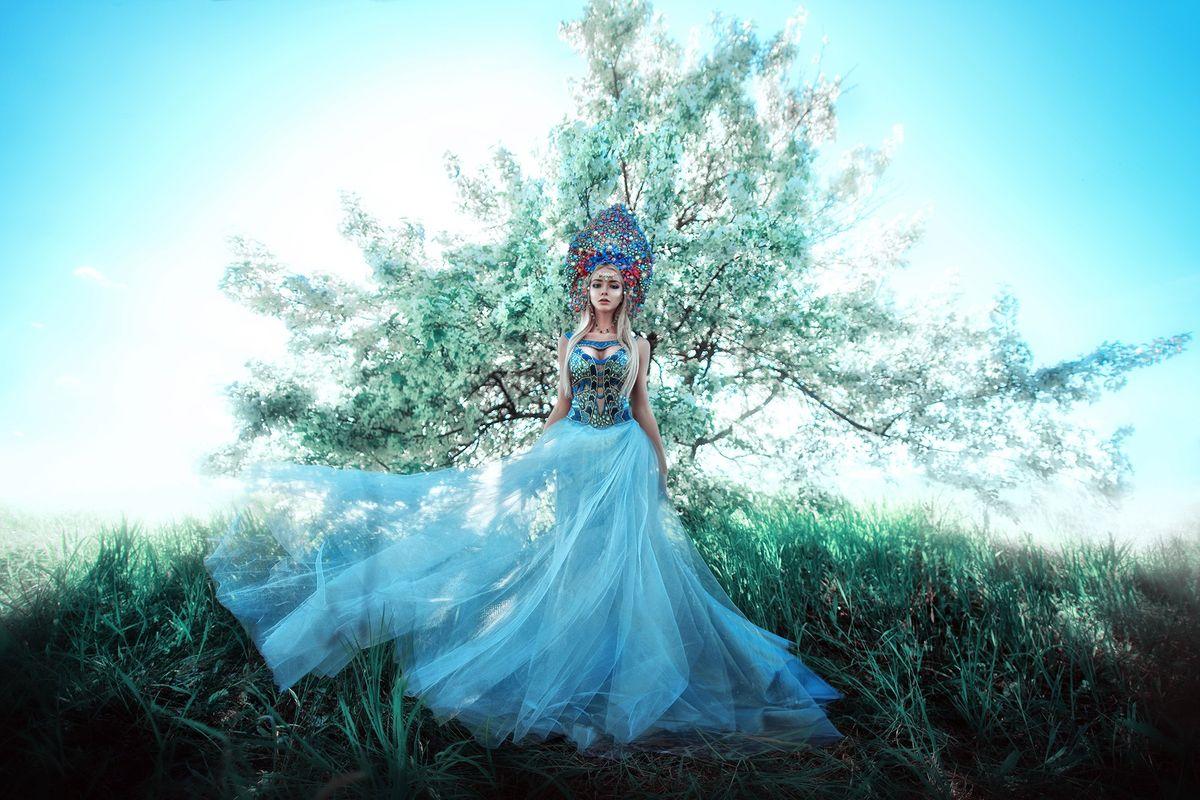 forestprincesses15 - Лесные принцессы и русалки: пермский фотограф снимает сказочных красавиц в лесах Прикамья