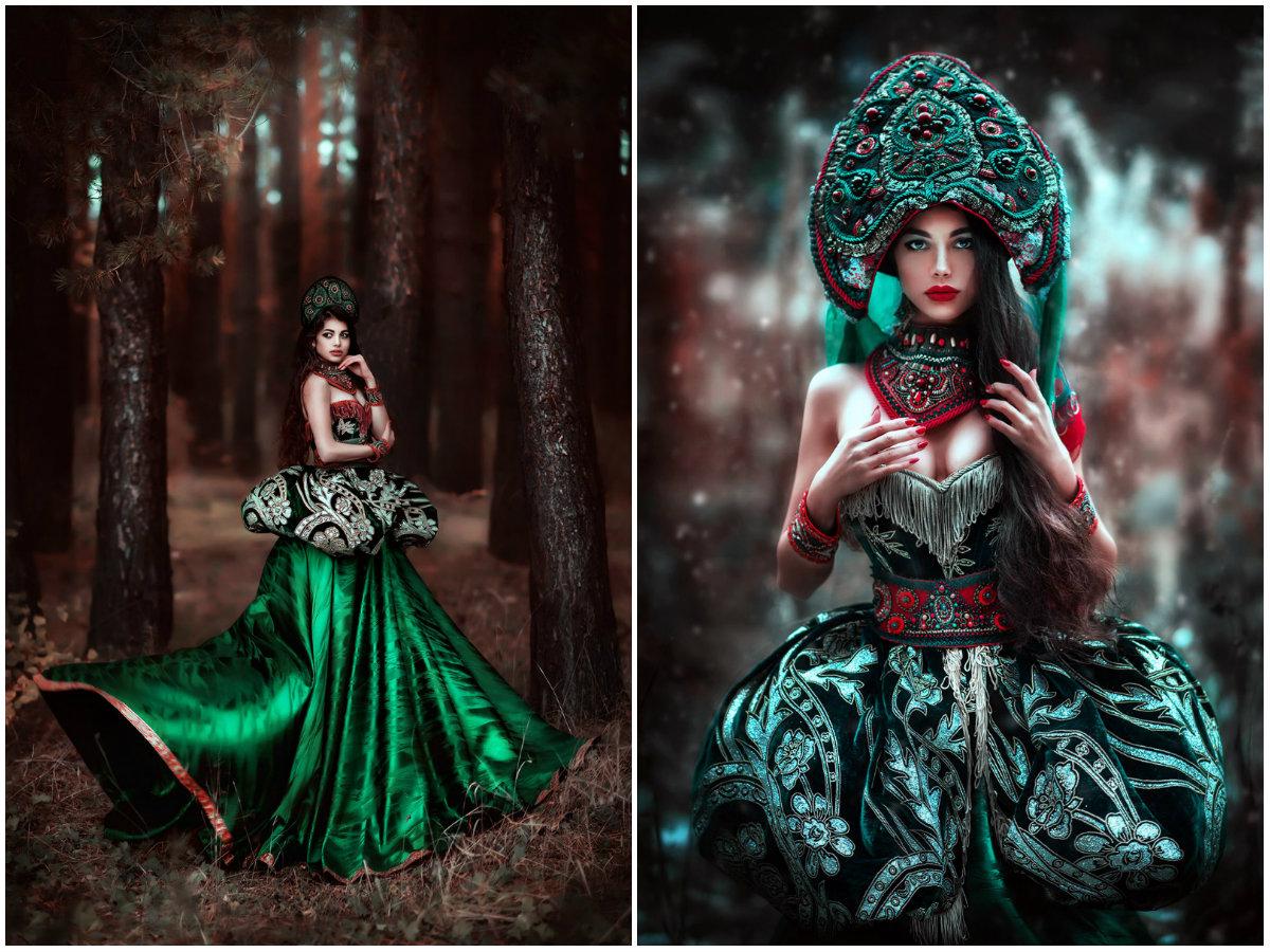 forestprincesses25 - Лесные принцессы и русалки: пермский фотограф снимает сказочных красавиц в лесах Прикамья