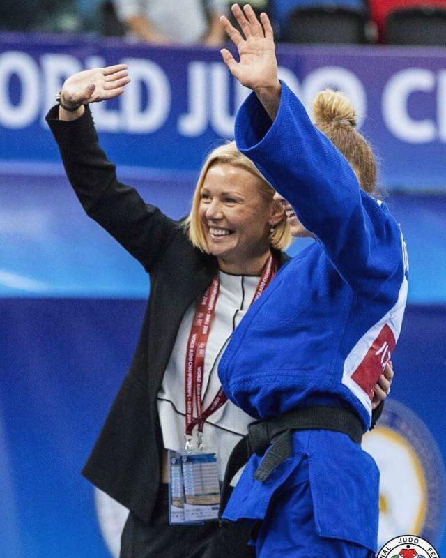 Дзюдоистка из Украины Дарья Белодед