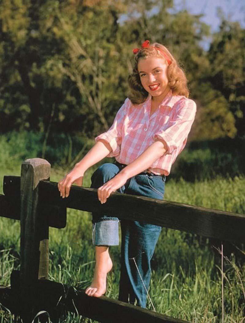 MarilynMonroe12 - Редкие фото 19-летней Мэрилин Монро