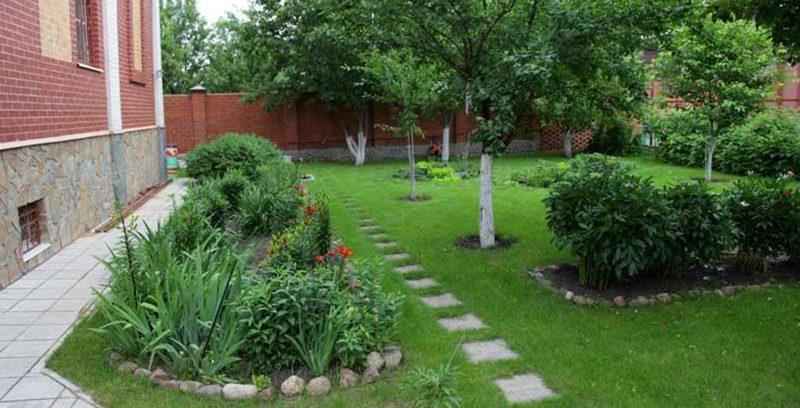 Красивый плодовый сад