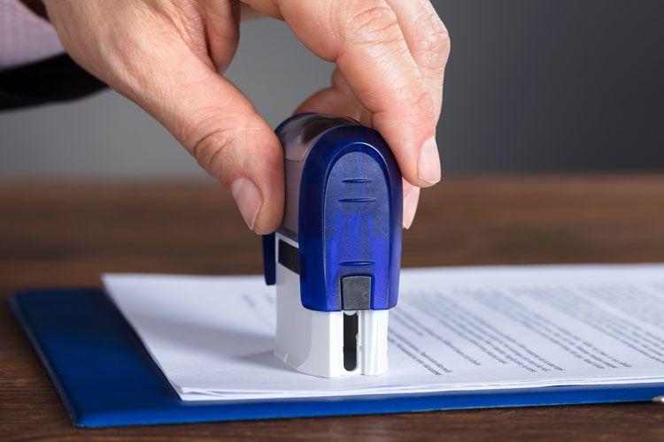 регистрация печати в налоговой ип