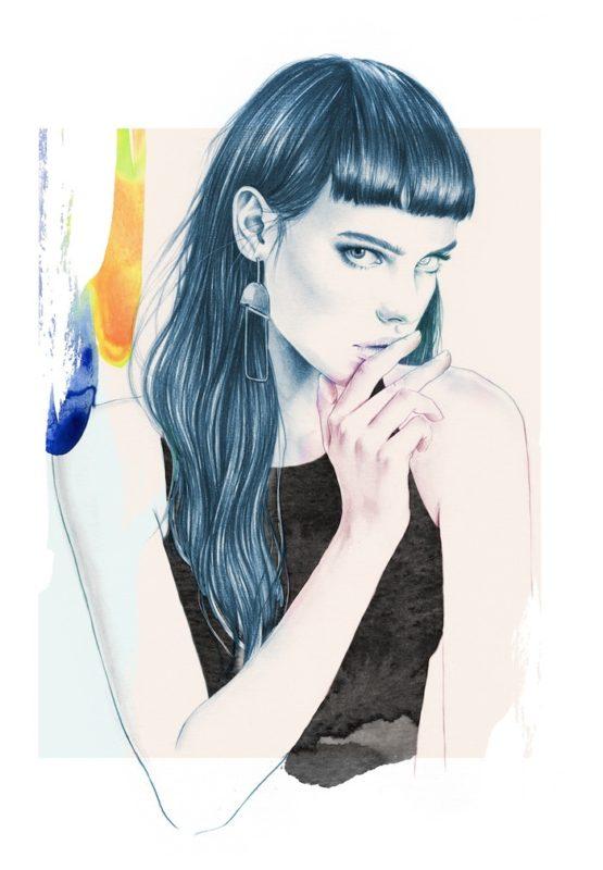 Креативные иллюстрации Эсры Ройзи из Норвегии, которые полностью перевернут ваш взгляд на мир моды