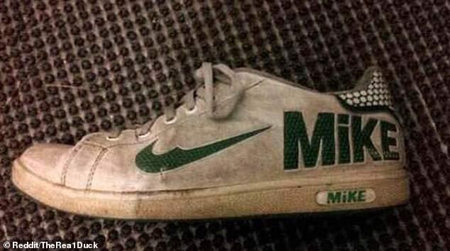 b3e9ff92 Это должна была быть пара кроссовок Nike, но что-то пошло не так. Но ведь  бренд Mike не менее известный? Фото предоставил некий TheRea1Duck из США.