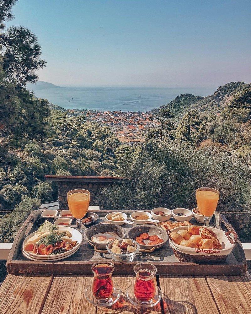 Картинки шикарный завтрак