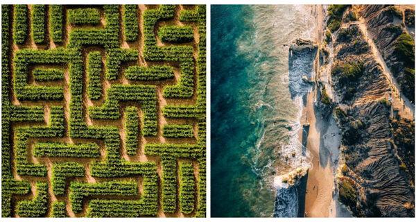 Потрясающие снимки Калифорнии с высоты птичьего полета от фотографа Томми Лундберга