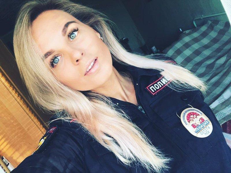 20+ невероятно сексуальных работниц российских правоохранительных органов фото