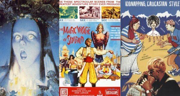 Как выглядели плакаты любимых советских фильмов для разных стран: Stalker, Ivan Vasilievich, Little Vera и другие