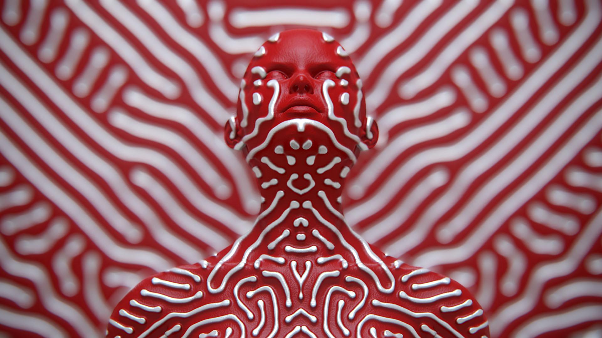 Поразительные графические портреты от японского дизайнера Кухей Накамы