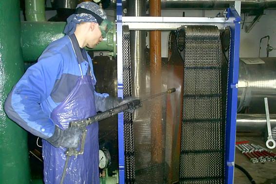 Способ промывки пластинчатых теплообменников Уплотнения теплообменника Теплохит ТИ P05 Королёв