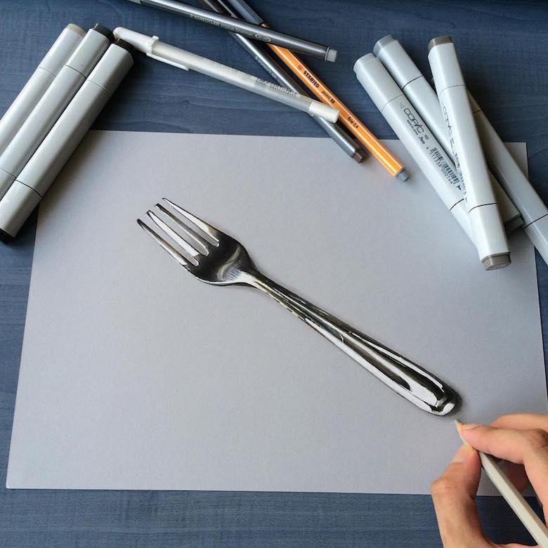 Гиперреалистичные рисунки индийского художника