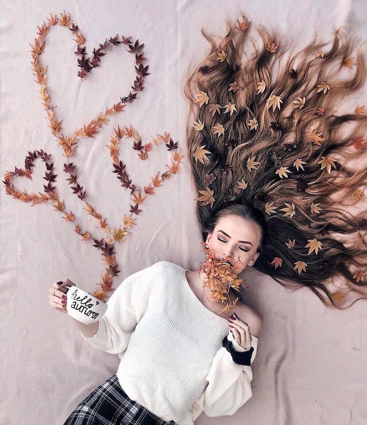 long hair flat lay photos krissy elisabeth 21 1