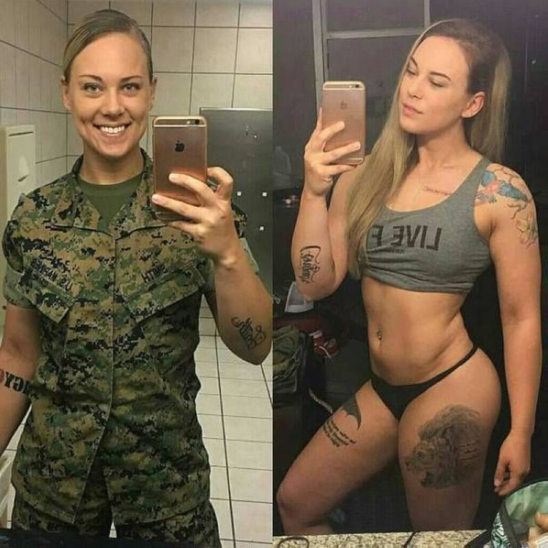 Remove it immediately: 15 photos of sexy girls in uniform and without