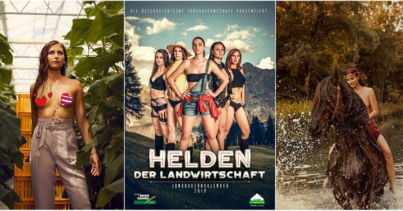 Как выглядит новый пикантный календарь от самых сексапильных фермерш Австрии