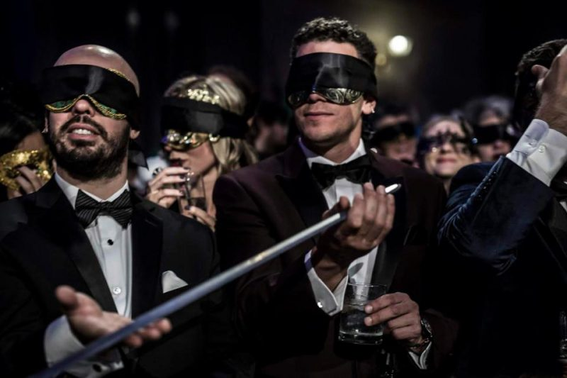 """Fun, fun celebrate the New Year: how will """"Ball of the Illuminati"""", the spicy new year's eve party"""