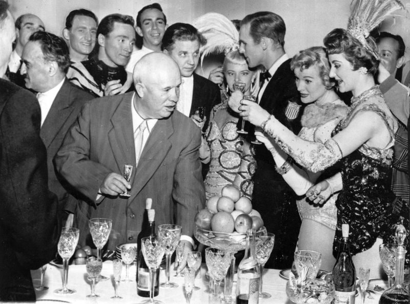 As the New year was celebrated by Soviet leaders