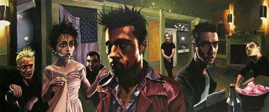Иллюстрации к культовым фильмам от американского художника. Фото