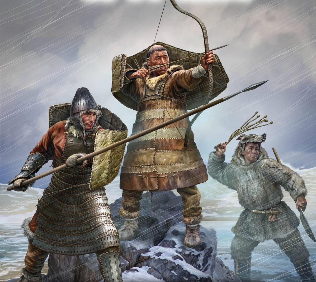 Оружие заполярных самураев: чем воевали грозные чукчи фото