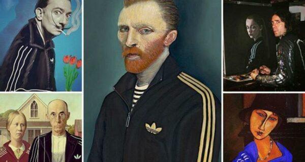 Ван Гоп и другие: герои мировых шедевров живописи примерили олимпийки