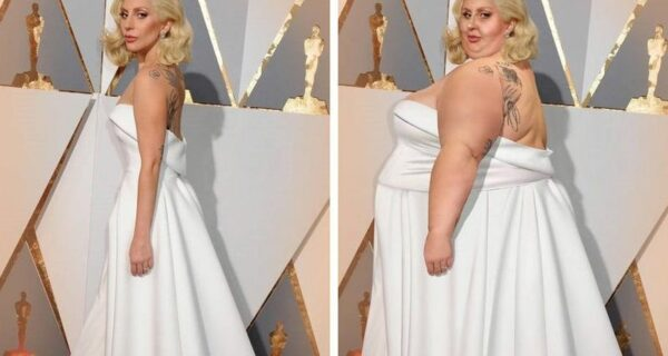 Художник добавляет звездам лишние килограммы, желая показать, что красота бывает любых размеров