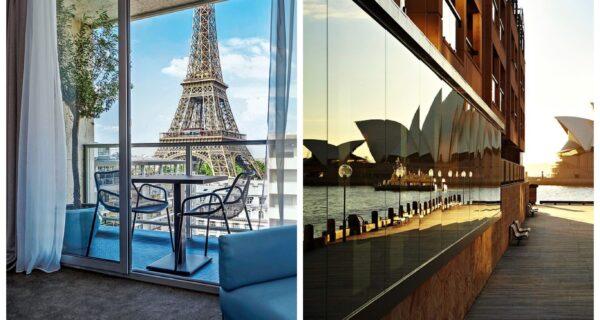 А из нашего окна башня Эйфеля видна! Отели с самыми красивыми видами вмире