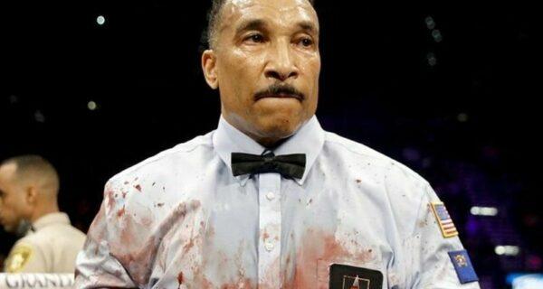 Фотошоп-баттл: судья после «кровавого» боксерского поединка