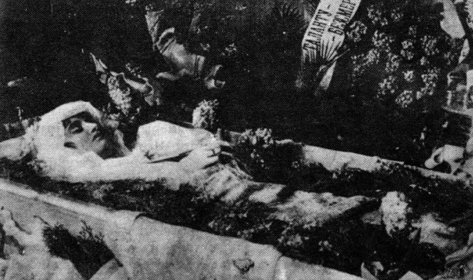 arhive 03 vera kholodnaya funeral - Грипп, унесший жизни миллионов: что такое испанка и где она сейчас