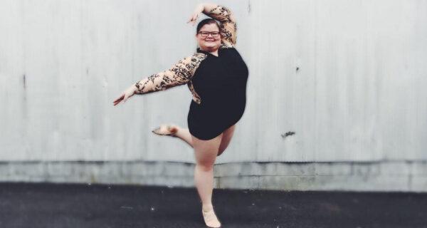 В формате «плюс-сайз»: эта балерина доказала миру, что тоже может быть грациозной