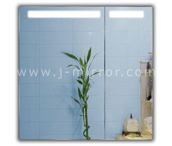 Зеркальный шкафчик Atlant LED 202 70x70 - фото-2