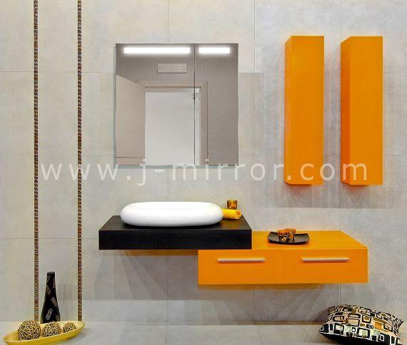 Зеркальный шкафчик Atlant LED 202 70x70 - фото-1