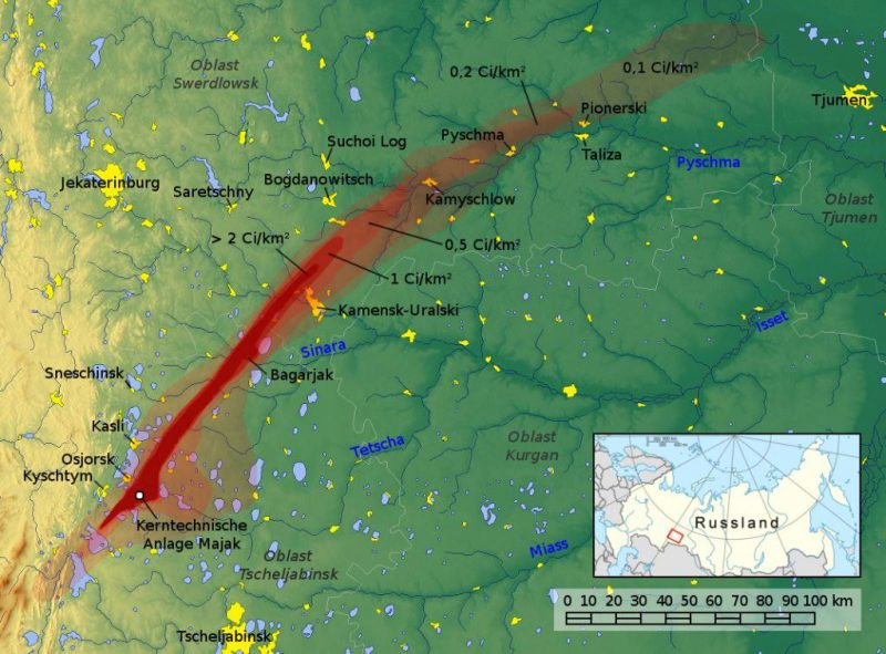 Non-peaceful atom: 5 accident with release of radioactive substances, which remained silent in the USSR