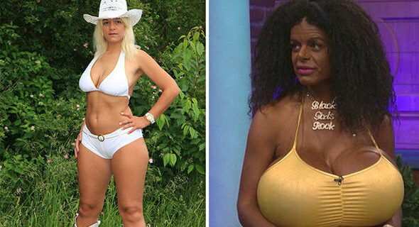 Ударенная солнцем: модель-блондинка из Германии стала темнокожей и хочет перебраться в Африку