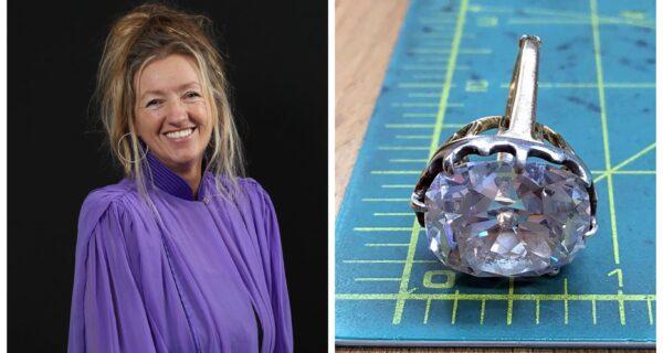 Счастливое неведение: камень в кольце с барахолки, оказался бриллиантом на миллион