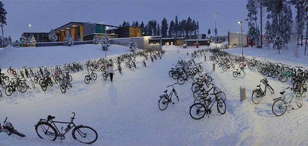Антифриз в крови: финские дети ездят в школу на велосипедах при температуре —17C