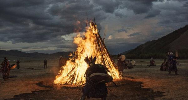 «Небесный караван»: в Бурятии шаманы сожгли 5 верблюдов на благо России