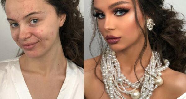 От Золушки к принцессе: удивительные превращения в невест с помощью макияжа