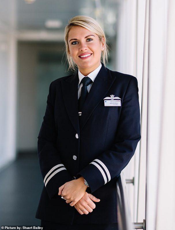 работа на самолете девушки