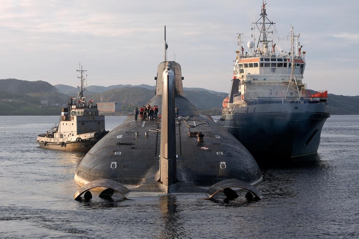 Самая большая подводная лодка в мире: когда размер имеет значение фото