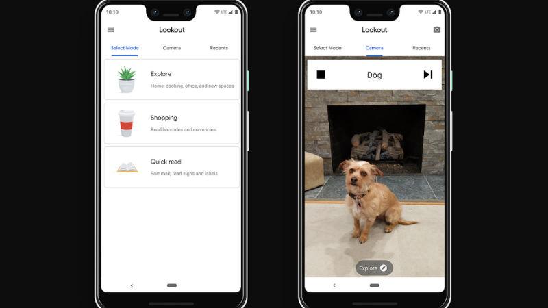 Google запустил приложение для слепых и слабовидящих людей, которое распознает объекты вокруг