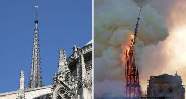 На месте падения шпиля собора Нотр-Дам-де-Пари нашли утраченную реликвию, связанную с Христом